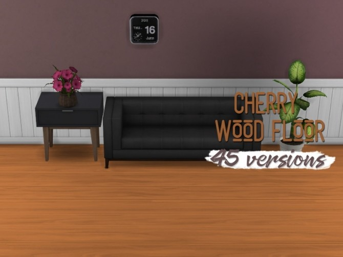 Cherry wood floor at Midnightskysims image 3411 670x503 Sims 4 Updates