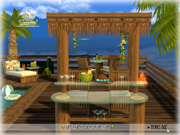 Tropics bar by SIMcredible at TSR image 3519 Sims 4 Updates