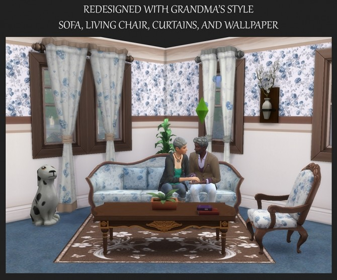 Redesigned with Grandmas Style set by Simmiller at Mod The Sims image 357 670x558 Sims 4 Updates