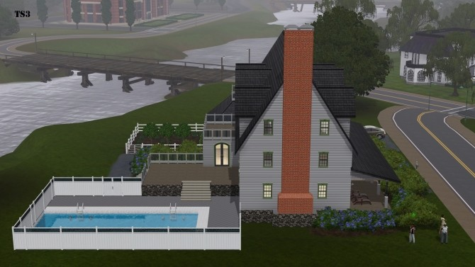 Sims 4 No CC Twinbrook 03 River Retreat by Karon at Mod The Sims