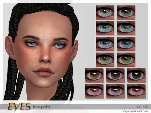 Sims 4 Eyes Set 9 by ShojoAngel at TSR