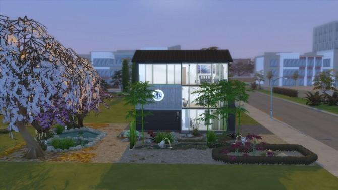 Sims 4 Zenitude House by nanosako at Mod The Sims