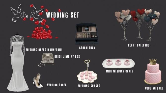 Sims 4 Wedding Set (P) at Leo Sims