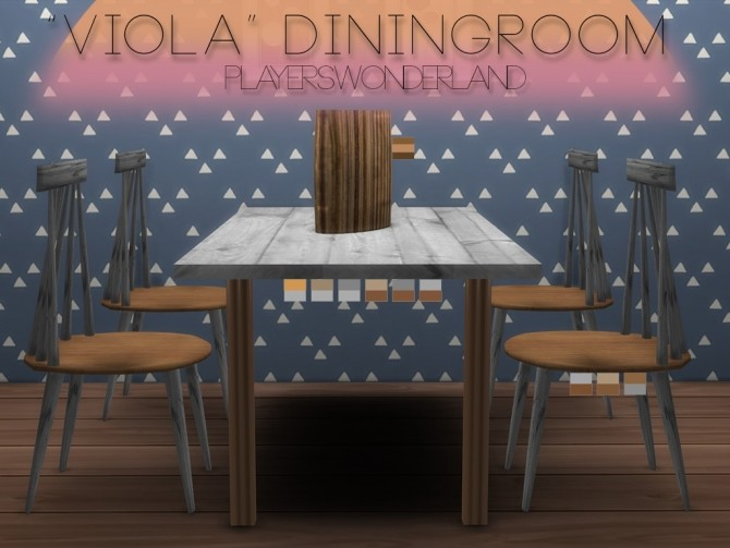 Viola Diningroom at PW's Creations image 399 670x503 Sims 4 Updates