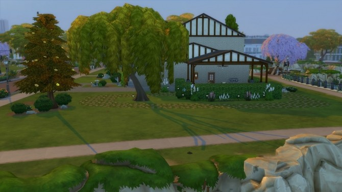Sims 4 Bluewood Manor No Cc by kiimy 2 Sweet at Mod The Sims