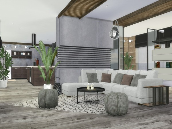 Modern Norema home by Suzz86 at TSR image 407 Sims 4 Updates