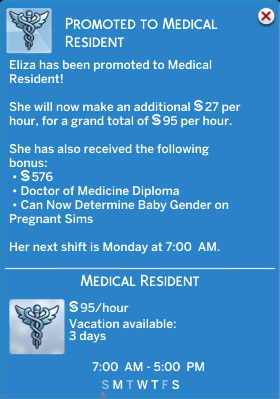 Doctor Career Job Titles Replacement by d unit at Mod The Sims image 409 Sims 4 Updates