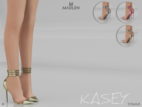 Sims 4 Madlen Kasey Shoes by MJ95 at TSR