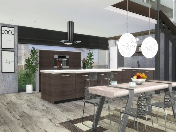 Modern Norema home by Suzz86 at TSR image 4111 Sims 4 Updates
