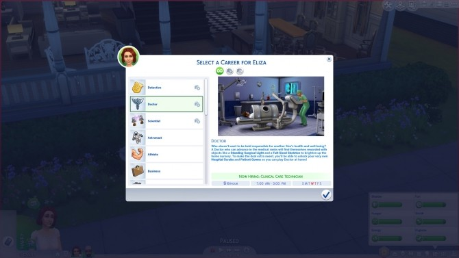 Doctor Career Job Titles Replacement by d unit at Mod The Sims image 4113 670x377 Sims 4 Updates