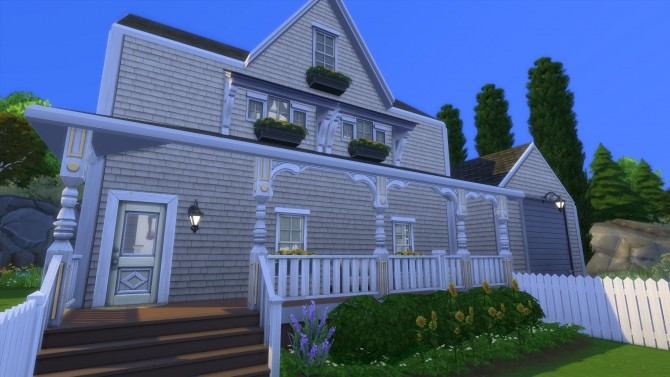 Sims 4 Country Inspired Family Home by Simstwoyou at Mod The Sims