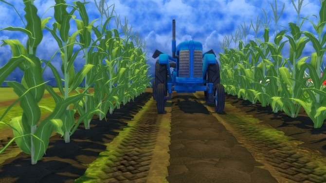 Sims 4 Farm and Orchard II Tractor Tracks Terrain Paint by Snowhaze at Mod The Sims