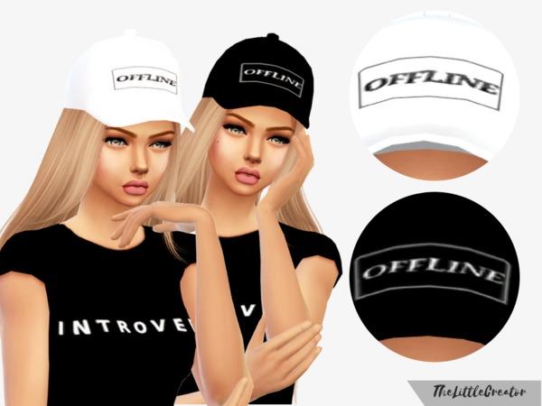 Sims 4 Liza Koshy OFFLINE Hat by TheLittleCreator at TSR