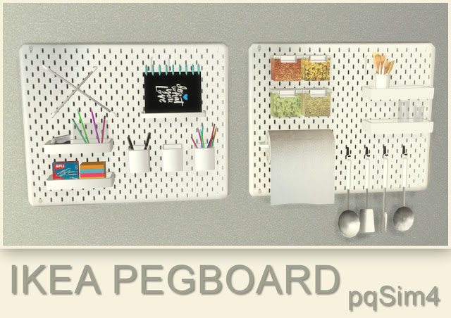 Sims 4 Pegboards at pqSims4