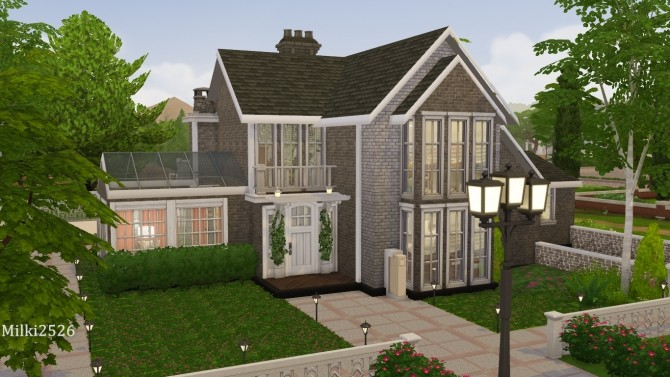 Astwood house at Milki2526 image 479 670x377 Sims 4 Updates