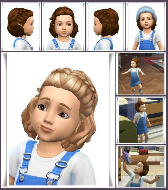 Sims 4 Tiny Maria Hair at Birksches Sims Blog