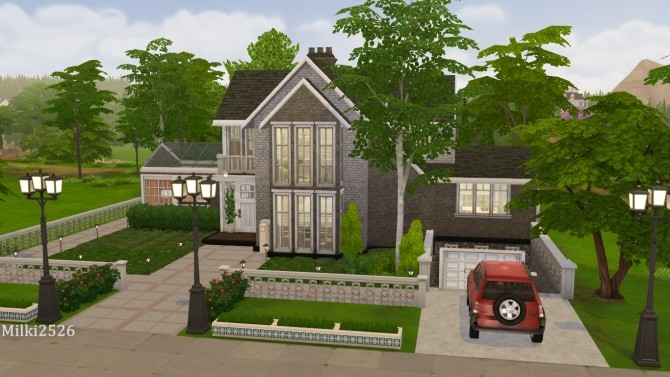 Astwood house at Milki2526 image 489 670x377 Sims 4 Updates