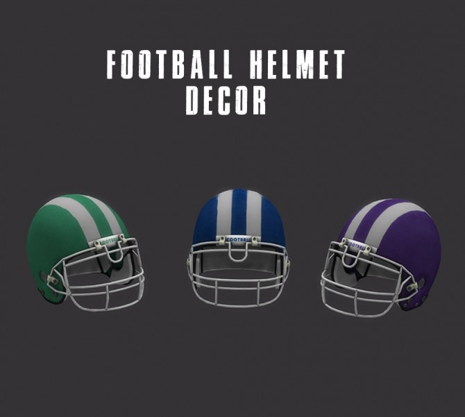 Deco Helmets at Leo Sims image 4911 670x601 Sims 4 Updates
