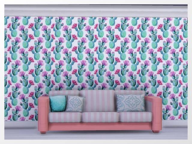 Sims 4 Paradise Island wallpaper by Oldbox at All 4 Sims