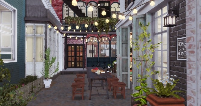 Sims 4 Downtown Apartments at Ruby's Home Design