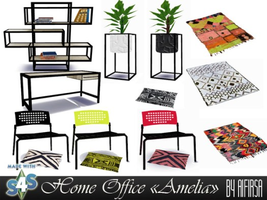 Amelia Home Office at Aifirsa image 5225 Sims 4 Updates