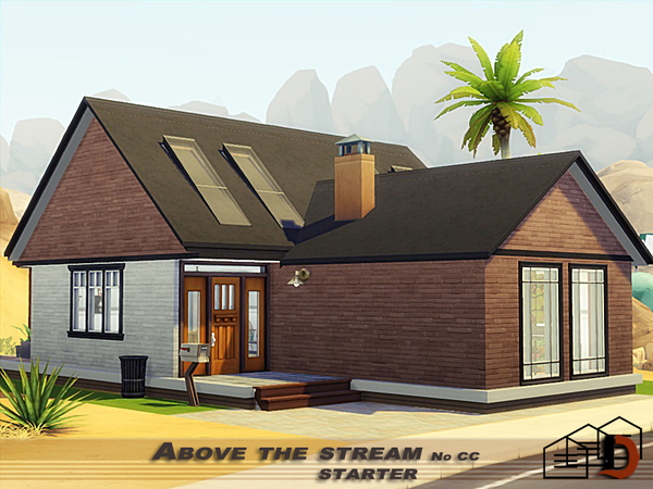 Above the stream starter by Danuta720 at TSR image 530 Sims 4 Updates