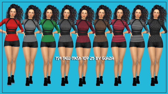 Top 25 at All by Glaza image 5313 Sims 4 Updates