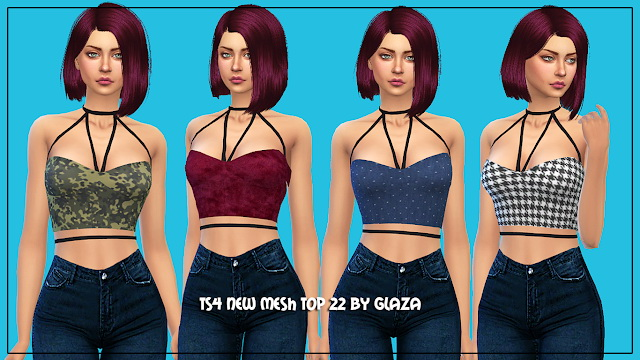Top 22 at All by Glaza image 538 Sims 4 Updates