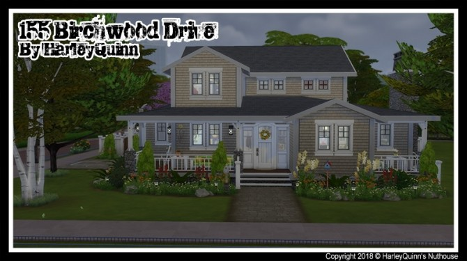 155 Birchwood Dr traditional family home at Harley Quinn's Nuthouse image 5410 670x375 Sims 4 Updates