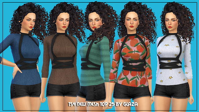 Top 25 at All by Glaza image 5414 Sims 4 Updates