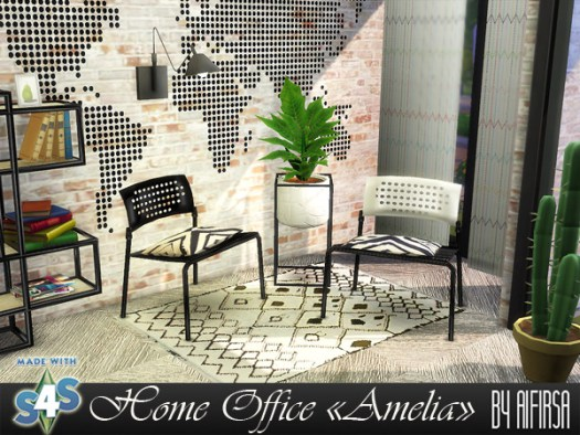 Amelia Home Office at Aifirsa image 5423 Sims 4 Updates