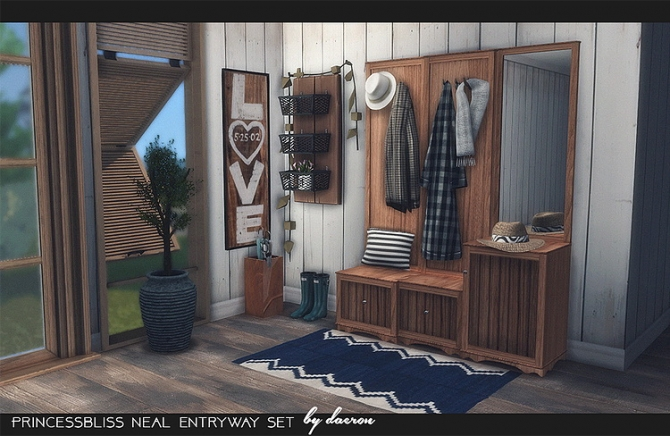 2t4 Princessbliss Neal Entryway Set By Daer0n At Blooming
