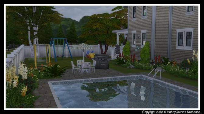 155 Birchwood Dr traditional family home at Harley Quinn's Nuthouse image 5510 670x375 Sims 4 Updates