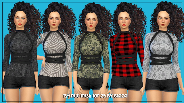 Top 25 at All by Glaza image 5513 Sims 4 Updates