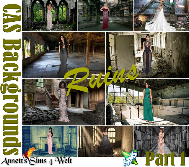 CAS Backgrounds Ruins Part 1 at Annett's Sims 4 Welt image 5517 Sims 4 Updates