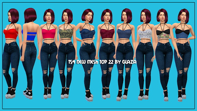 Top 22 at All by Glaza image 559 Sims 4 Updates