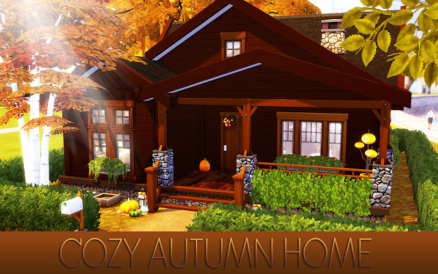 Cozy Autumn Home at MSQ Sims image 5621 Sims 4 Updates