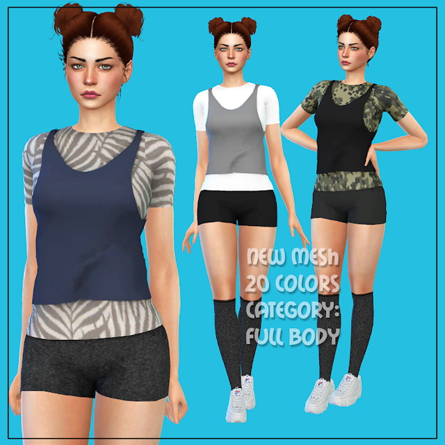 Outfit 2 at All by Glaza image 567 Sims 4 Updates