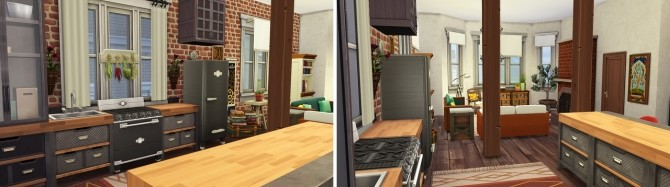 Sims 4 Small Brooklyn Apartment at Aveline Sims