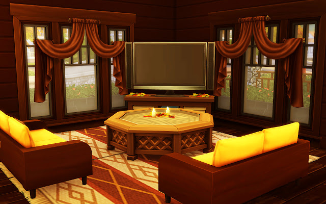Cozy Autumn Home at MSQ Sims image 5720 Sims 4 Updates