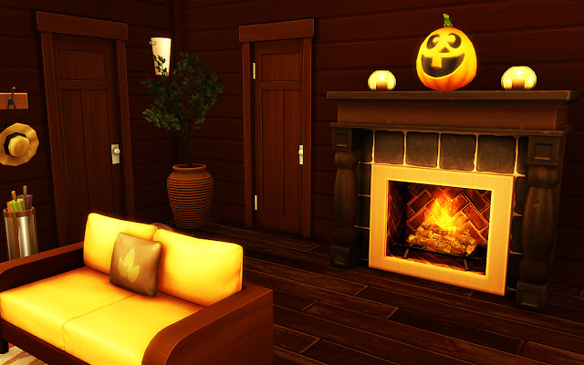 Cozy Autumn Home at MSQ Sims image 5821 Sims 4 Updates