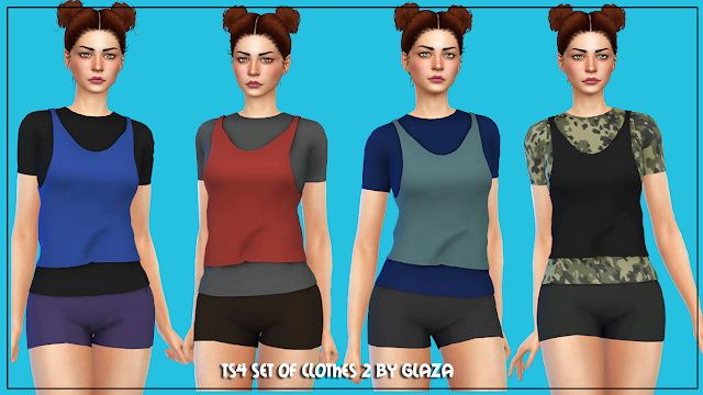 Outfit 2 at All by Glaza image 587 Sims 4 Updates