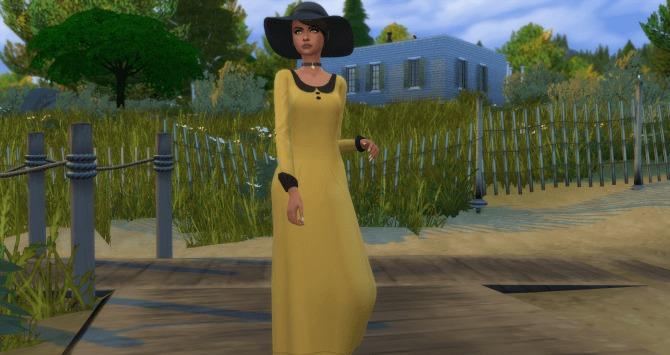 Grandma Conservative Dress by Annabellee25 at SimsWorkshop image 59 1 670x355 Sims 4 Updates