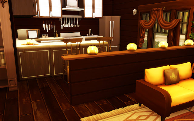 Cozy Autumn Home at MSQ Sims image 5919 Sims 4 Updates