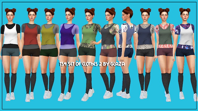 Outfit 2 at All by Glaza image 596 Sims 4 Updates