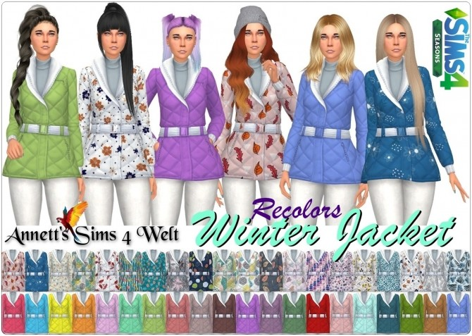 Winter Jacket Recolors at Annett's Sims 4 Welt image 6211 670x477 Sims 4 Updates