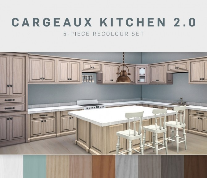 Cargeaux Kitchen 2.0 (P) at SimPlistic image 63 670x576 Sims 4 Updates