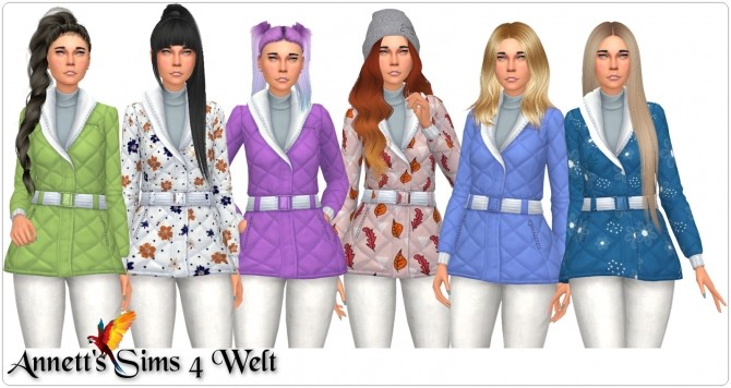 Winter Jacket Recolors at Annett's Sims 4 Welt image 6310 670x356 Sims 4 Updates