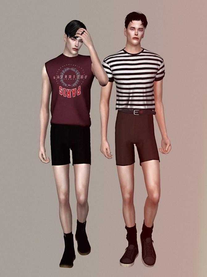Micro shorts for men at Rona Sims image 6312 670x893 Sims 4 Updates