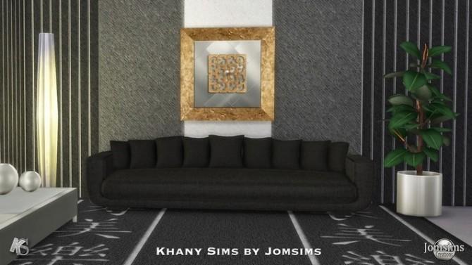 Sims 4 Sofa by Jomsims at Khany Sims